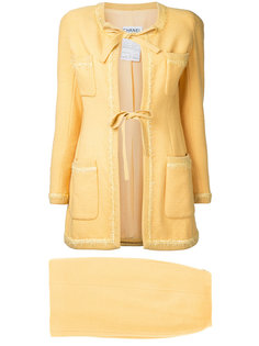 jacket and skirt suit Chanel Vintage