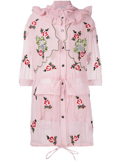 Fanello embroidered coat  Vivetta