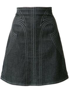 юбка А-образного кроя Derek Lam 10 Crosby