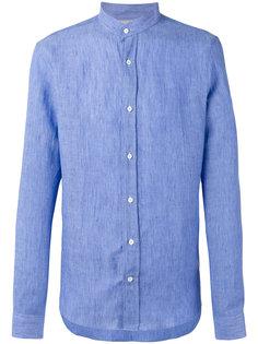 рубашка с узким воротником-стойкой Brunello Cucinelli