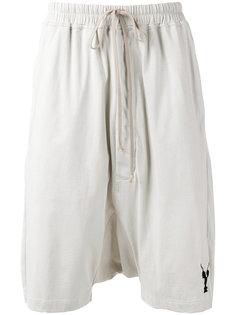 спортивные шорты с логотипом Rick Owens DRKSHDW