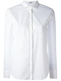 рубашка со срезанным воротником Brunello Cucinelli