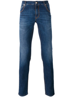 stonewashed slim-fit jeans Ermanno Scervino