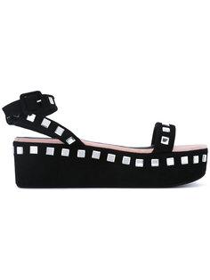 сандалии на платформе Brook  Giuseppe Zanotti Design