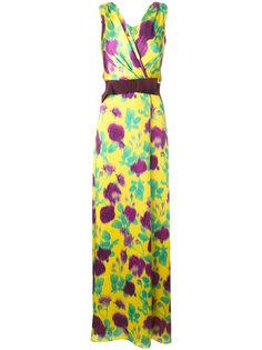 floral print maxi dress Max Mara