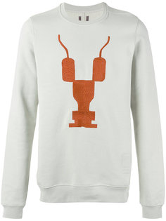 print front sweatshirt Rick Owens DRKSHDW