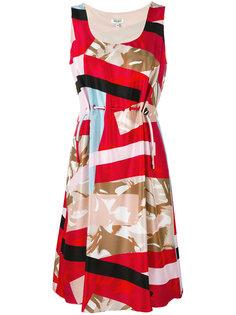 платье без рукавов с комбинированным принтом Kenzo