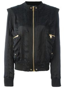 куртка бомбер со структурированными плечами Balmain