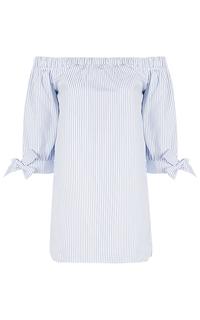 Рубашка с открытыми плечами La Reine Blanche