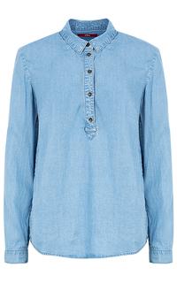 Женская рубашка из денима S.Oliver Casual Women