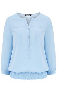 Голубая блузка La Reine Blanche