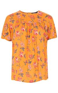 блузка с принтом La Reine Blanche