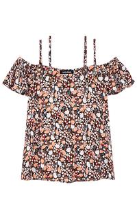Блузка с открытыми плечами La Reine Blanche