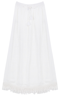 Белая юбка макси La Reine Blanche