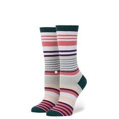 Носки высокие женские Stance Stripe Blossom Pink