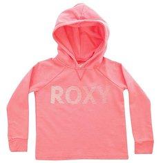 Толстовка классическая детская Roxy Ukulelerxymove Neon Grapefruit