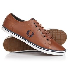 Кеды кроссовки низкие Fred Perry Kingston Leather Tan