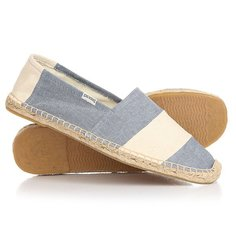 Эспадрильи Soludos Original Stripe Barca Chambray Natural
