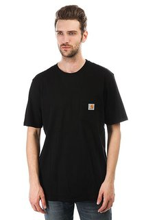 Футболка Carhartt Pocket T-shirt Black
