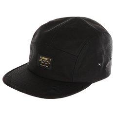 Бейсболка пятипанелька Carhartt Wip Military Cap Black