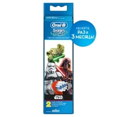 ORAL-B Насадки для электрической зубной щетки Stages Power Star Wars EB10K 2 шт.