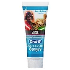 ORAL-B Зубная паста детская ProExpert Stages Ягодный Взрыв (Berry Bubble) Star Wars 75 мл