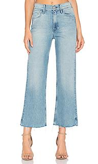Укороченные широкие джинсы shelter - 3x1