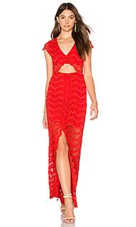 Макси-платье с вырезами mariposa - Nightcap