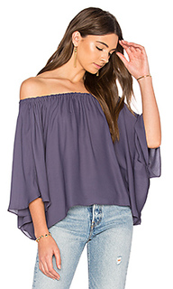 Off shoulder drape top - krisa