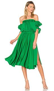 Платье миди zoey - MILLY