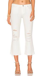 Укороченные джинсы-клеш mia - Black Orchid