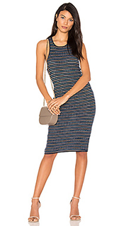 Stripe rib knit tank dress - Splendid