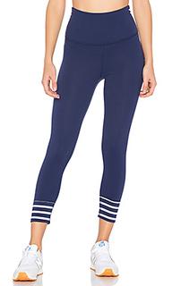 X kate spade sailing stripe high waisted capri legging - Beyond Yoga
