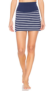 X kate spade sailing stripe high waisted skort - Beyond Yoga
