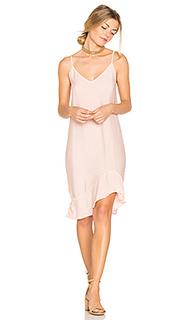 Ruffle slip dress - LACAUSA