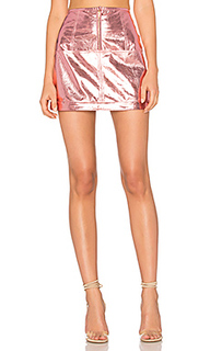 Luna metallic skirt - For Love & Lemons