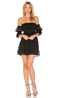 Платье с открытыми плечами modern love - For Love & Lemons