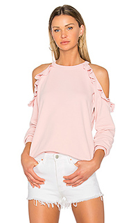 Ruffle shoulder sweatshirt - Sincerely Jules