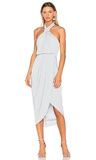 Драпированное платье с узлом - Shona Joy