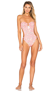 Say oui hi leg one piece swimsuit - ale by alessandra