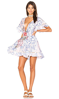 Расклешенное платье tropical punch - MINKPINK