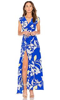 Макси платье swept away - Yumi Kim