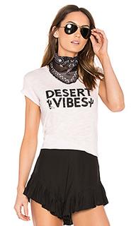 Desert vibes banner tee - TYLER JACOBS
