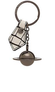 Round orb gun gadget key ring - Vivienne Westwood