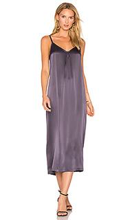 Шелковое плиссированное платье - Vince