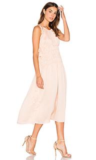 Макси платье на шлейках - Endless Rose
