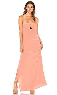 Шелковое платье-комбинация lily - AUGUSTE