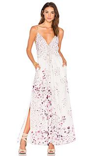 Макси платье flora - THE JETSET DIARIES