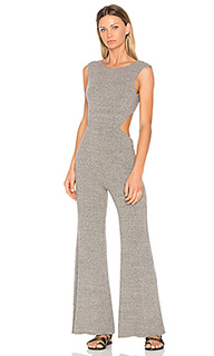 Rib wrap jumpsuit - Enza Costa