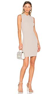 Платье в рубчик - Carven
